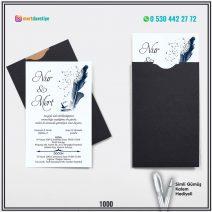 Kapalı Siyah Zarflı Model – 1000