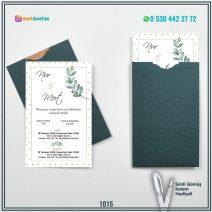Kapalı Yeşil Zarflı Model – 1015
