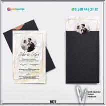 Kapalı Siyah Zarflı Model – 1027