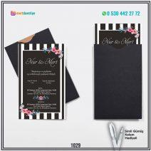 Kapalı Siyah Zarflı Model – 1029
