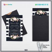 Kapalı Siyah Zarflı Model – 1031