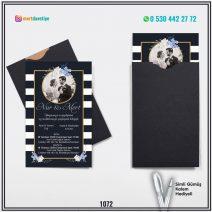 Kapalı Siyah Zarflı Model – 1072