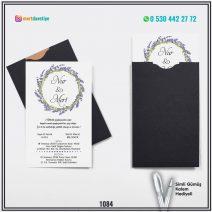 Kapalı Siyah Zarflı Model – 1084