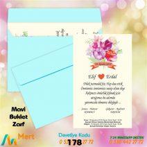 1,000 ADET MAVİ ZARFLI MODEL-178