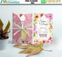 1,000 ADET PINK FLOWER MODEL-225