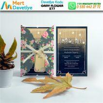 1,000 ADET GRAY FLOWER MODEL-277