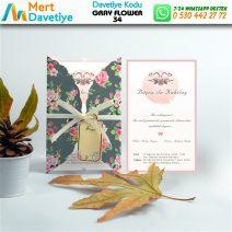 1,000 ADET GRAY FLOWER MODEL-34