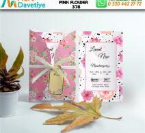 1,000 ADET PINK FLOWER MODEL-378
