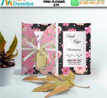1,000 ADET PINK FLOWER MODEL-379