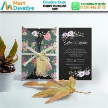 1,000 ADET GRAY FLOWER MODEL-389