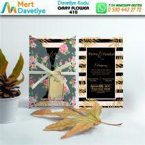 1,000 ADET GRAY FLOWER MODEL-410