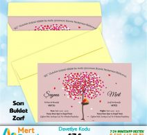 1,000 ADET SARI ZARFLI MODEL-434