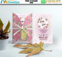 1,000 ADET PINK FLOWER MODEL-545