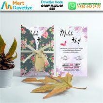 1,000 ADET GRAY FLOWER MODEL-620