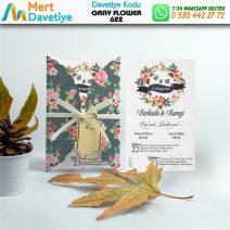 1,000 ADET GRAY FLOWER MODEL-622