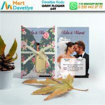 1,000 ADET GRAY FLOWER MODEL-649