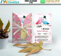 1,000 ADET PINK FLOWER MODEL-710
