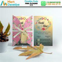 1,000 ADET PINK FLOWER MODEL-711