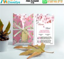 1,000  ADET PINK FLOWER MODEL-715