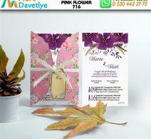 1,000  ADET PINK FLOWER MODEL-716