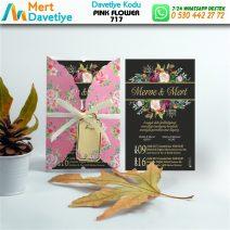1,000  ADET PINK FLOWER MODEL-717
