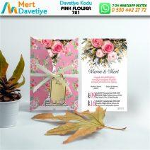 1,000  ADET PINK FLOWER MODEL-721