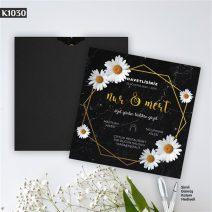 Kare Siyah Zarflı Model – K1030